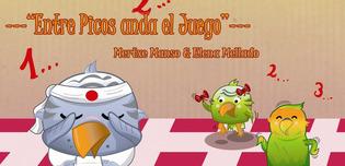 """Ilustración de Elena Mellado para el libro """"Entre Picos anda el Juego"""", escrito por Mertxe Manso. El proyecto actualmente recauda fondos en verkami.com."""