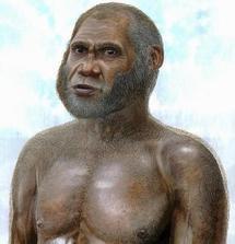 Reproducción virtual del posible aspecto del 'hombre del Ciervo Rojo'. Imagen: Peter Schouten