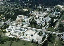 Edificio del CIEMAT, escenario en 1970 de un accidente nuclear. Foto: CIEMAT.