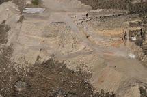 Vista aérea del yacimiento arqueológico de Puente Tablas. Fuente: UJA.