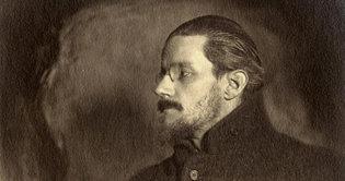 James Joyce en 1918. Fuente: Wikimedia Commons.