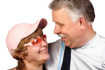 El trabajo apunta a una menor actividad sexual de las mujeres mayores de 65 años, en comparación con los hombres. Fuente: PhotoXpress.