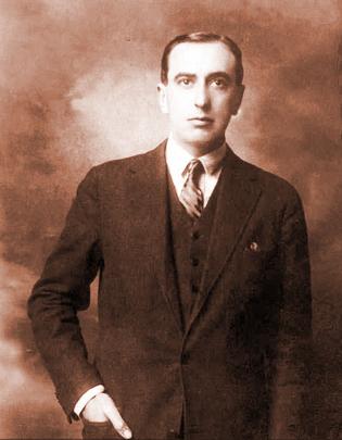 Vicente Huidobro. Fuente: Wikimedia Commons.