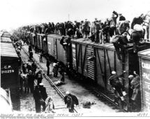 La recesión de 1937 se encuentra entre las más severas del siglo XX. Fuente: Wikimedia Commons.
