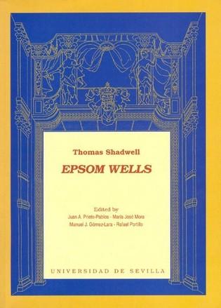 Portada de la edición de Epsom-Wells, de Thomas Shadwell.