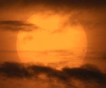El tránsito de Venus de 2004. Fuente: David Cortner. NASA.