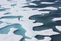 La expedición ciantífica en el Ártico. NASA.