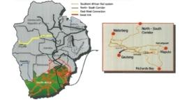 La línea de enlace con Suazilandia y otras vías conexas abrirán grandes oportunidades para el transporte de mercancías por el sur de África. Imagen: railway-technology.com