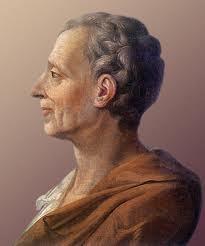 Montesquieu y la división de poderes. Fuente: bobmartins.blogspot.com