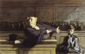 """""""El Defensor del Pueblo"""". Cuadro de Honoré Daumier. Fuente: es.wahooart.com"""