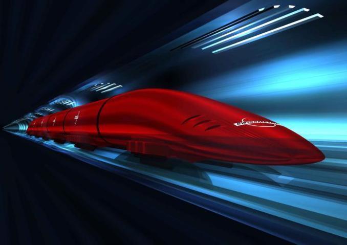 Túneles superconductores de vacío, una de las tecnologías que promete velocidades impactantes. Imagen: swissmetro.ch