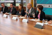 Wert, con la Comisión de Expertos para la reforma del Sistema Universitario el pasado 16 de mayo. Foto: Moncloa.