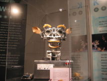 El robot Kismet, con rudimentarias habilidades sociales. Polimerek.