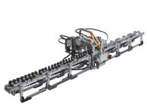 Máquina de Turing construida con Lego.