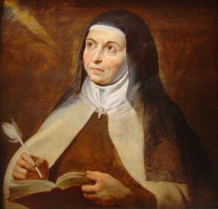 Santa Teresa de Jesús por Peter Paul Rubens. Fuente: Wikimedia Commons.