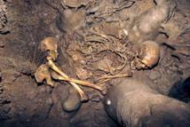 Los restos de los dos mesolíticos fueron hallados en el yacimiento leonés de La Braña-Arintero. Imagen: Instituto de Biología Evolutiva (UPF-CSIC). Fuente: SINC.