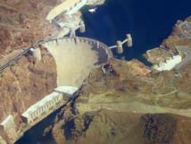 Presa Hoover, junto al río Colorado (USA). Foto: Snakefisch.