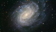 Imagen de la galaxia espiral NGC 1187 obtenida con el VLT. Fuente: ESO.