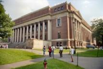 La Biblioteca Widener (Universidad de Harvard). Imagen: California Cthulhu (Will Hart).