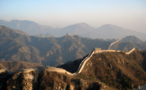 Gran muralla china. Fuente: Wikimedia Commons.