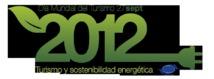 Logo oficial del Día Mundial del Turismo 2012. Imagen: sustaintabletrip.org. Fuente: Flickr.