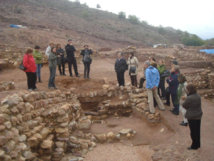 Visita al yacimiento de La Bastida. Fuente: Universidad de Murcia.