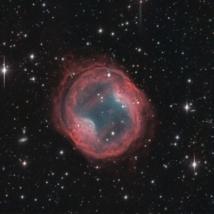 Imagen de la nebulosa PK164+31.1 de la Galería Documental de Astrofotografía de Calar Alto. Fuente: Fundación Descubre / CAHA / OAUV / DSA, Vicent Peris (OAUV), Jack Harvey (SSRO).