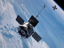Sondas de la NASA en el cinturón Van Allen. Fuente: NASA.