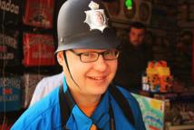 Policía en Londres. Imagen: j_silla. Fuente: Flickr.