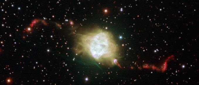 La nebulosa planetaria Fleming 1 vista por el telescopio VLT (Very Large Telescope) de ESO. Foto: ESO.