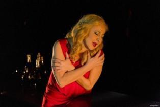 """Carmen Machi en un momento de la representación de """"Jucio a una zorra"""". Imagen: Sergio Parra. Fuente: Teatro Alhambra de Granada."""