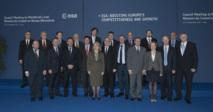Ministros y representantes europeos en el Consejo Ministerial 2012. Fuente: ESA.