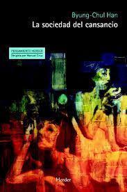 """Portada del libro """"La sociedad del cansancio"""" (Herder, 2012)."""