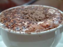 Chocolate caliente. Imagen: Alpha.