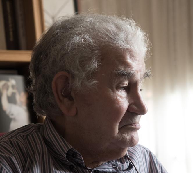 Antonio Gamoneda. Imagen: Fernando Sanz Santa Cruz.