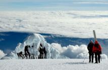 El glaciar Antisana, en Ecuador. Imagen: Bernard Francou. Fuente: IRD.
