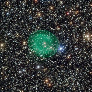 La nebulosa planetaria IC 1295. Fuente: ESO.