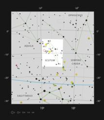 La nebulosa planetaria IC 1295 en la constelación de Scutum (El Escudo). Fuente: ESO.
