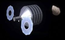 Sistema para redirigir el asteroide. Fuente: NASA.