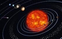 Concepción artística del Sistema Solar y las órbitas de sus planetas. Imagen: Harman Smith y Laura Generosa. Fuente: NASA.