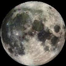 Imagen de la Luna obtenida por la sonda Galileo en 1992. Fuente: NASA/JPL.