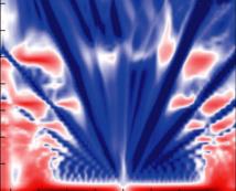 Una de las imágenes fractales obtenidas en los estudios. Imagen: P. Kim et al. Fuente: SINC.