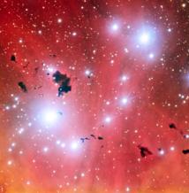 El Very Large Telescope obtiene una instantánea de una guardería estelar y celebra sus quince años en funcionamiento. Fuente: ESO.