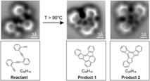 Reacción de la molécula de oligo-enediyne. Fuente: UPV-EHU.