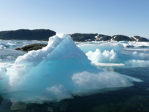 Hielo de Groenlandia. Imagen: Kitty Terwolbeck. Fuente: Flickr.