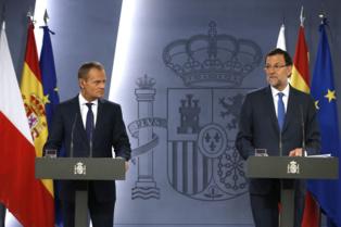 Rajoy responde a preguntas de los periodistas sobre la corrupción, el 15 de julio. Foto: Moncloa.