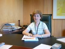 María Jesús Martínez, en su despacho del CIB. Imagen: Carlos Gómez Abajo.