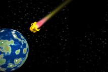 Los científicos creen que los fragmentos encontrados podrían haber viajado hasta la estratosfera terrestre en el entorno húmedo de un cometa. Imagen: goce risteski. Fuente: PhotoXpress.
