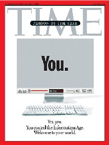 Portada de la revista Time. Diciembre 2006.
