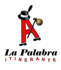 Logo del colectivo La Palabra Itinerante. Fuente: Miguel Brieva.